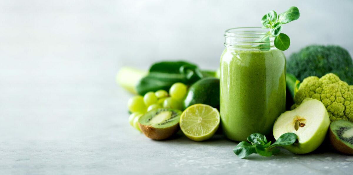 Druk en toch gezond? Green juice