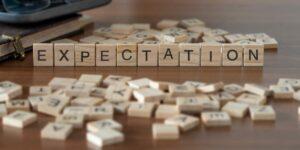 Verwachtingen binnen relaties