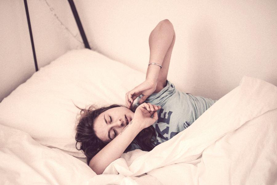 slaapproblemen en voeding